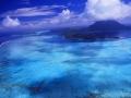 French Polynesia: Helicopter-Airshot from Bora Bora Island