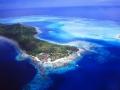 French Polynesia: Airshot from Bora Bora Lagoon Resort | Südsee: Luftbild vom Bora Bora Lagoon Resort