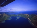 Airshot of Palawan Island in the Philippines
