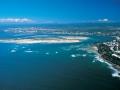 Australia: Aerial-view of Caloundra, Queensland, Sunshine Coast