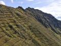Austria: Avalanche-protection on Hochfirst above Schruns village in Montafon, Vorarlberg