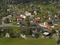 Airshot mountain village St. Gallenkirchen