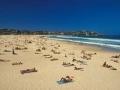 Sydneys Stadtstrand Bondi Beach. Sydneys Bondi Beach.