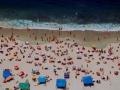 Sydney beliebter Stadtstrand Bondi Beach. Sydneys City-Beach Bondi