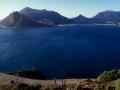 Hout Bay at Cape Peninsula. Hout Bucht auf der Kaphalbinsel.