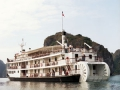 Raddampfer, Schiffsreise, Halong Bay, historic steamboat, cruises, Halong BAy