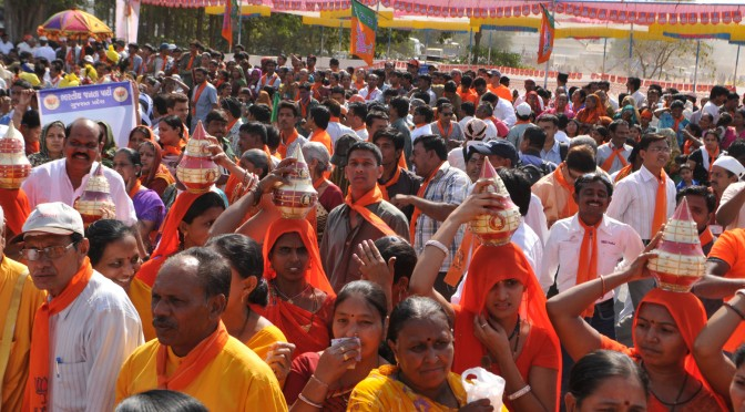 Politische Kundgebung, Kommunisten, Ahmedabad, Gujarat   political celebration, communist party, masses of peoples. © GMC Photopress, gmc1@gmx.ch