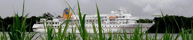 Luxuriös und abenteuerlich: Amazonas Cruise mit der MS-Bremen.