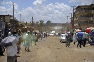 Kenya: Slums von Mombassa