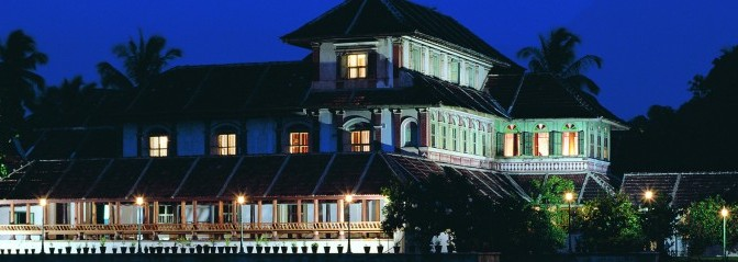 HeaderbildKalari Kovillakom Ayurvedic Healing Palace der CGH Earth Group in Kerala. Bildref.: IND_Kalari_atnight16.jpg