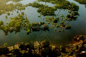 Airshot Amazonas Rainforest Iquitos Peru. Airshot Iquitos Peru. (Bildref. quitosperu4)