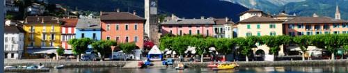 Headerbild Ascona Skyline vom Seeufer am Lago Maggiore im Tessin. © GMC Photopress, Gerd Müller, gmc1@gmx.ch