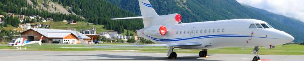 Headerbild Privat Jet in Samedan. © GMC/Gerd Müller