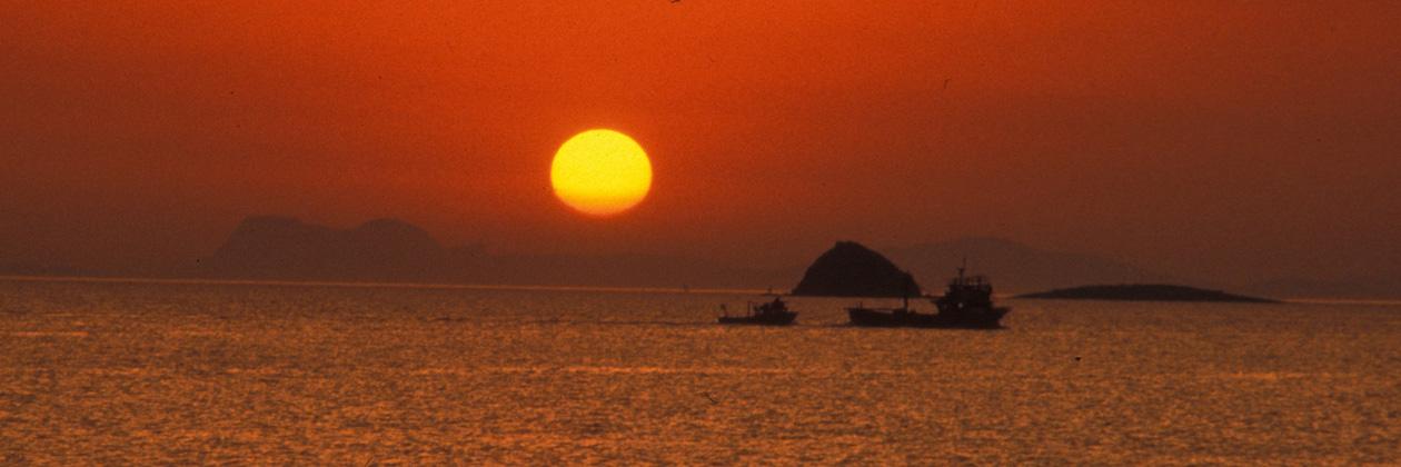 1260 px Header Sunset Coron Island