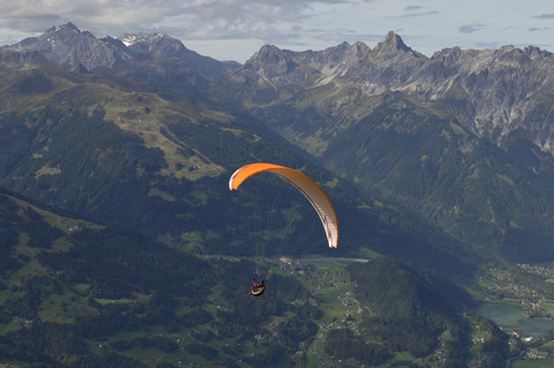 Gleitschirmfliegen | Paragliding Montafon