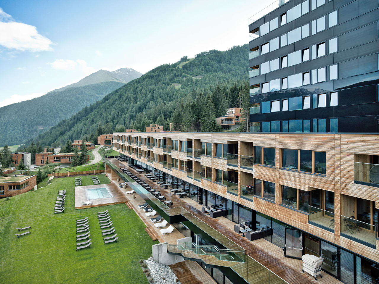 Das Gradonna Mountain Resort in Kals-Matrei ist eine archiektonisch und ökologisch ausgezeichnete Alpenperle. Bild: z.V.g.