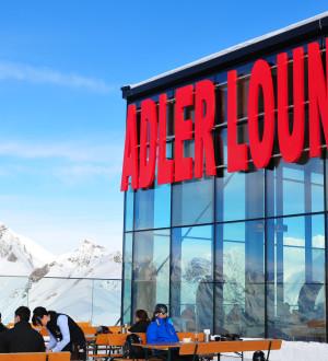 Gourmet-Küche mit Grossglockner-Panorama | Austria's highest gorumet restaurant Adler Lounge, Kals-Matrei, Grossglockner