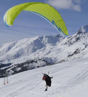 Lienz Paragling Winter 9785