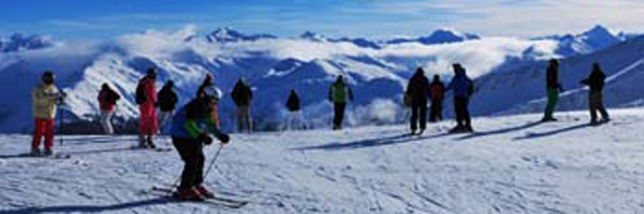 Headerbild Wintersportregion, Skigebiet Davos, Parsenn, Weisfluhjoch | Swiss Alps, Wintersport Davos City