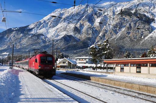 Austria: ÖBB Railjet