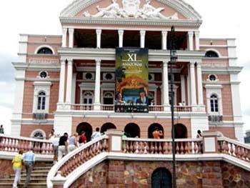 Brasilien: Opera Manaus 12