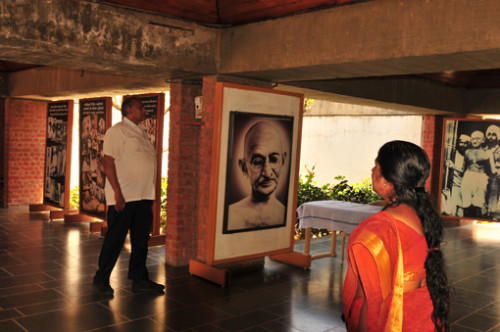 Indien: Ghandi Museum, Ahmedabad; Gujarat, Indien | Ghandi Museum, Ahmedabad; Gujarat, India