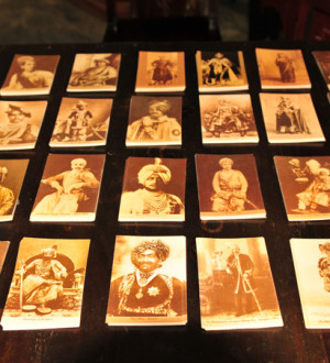 Indien: Postkarten, Mahardscha Palast, Heritage Hotel, Poshina, Gujarat | Postcards, Mahardscha Palace, Heritage Hotel, Poshina