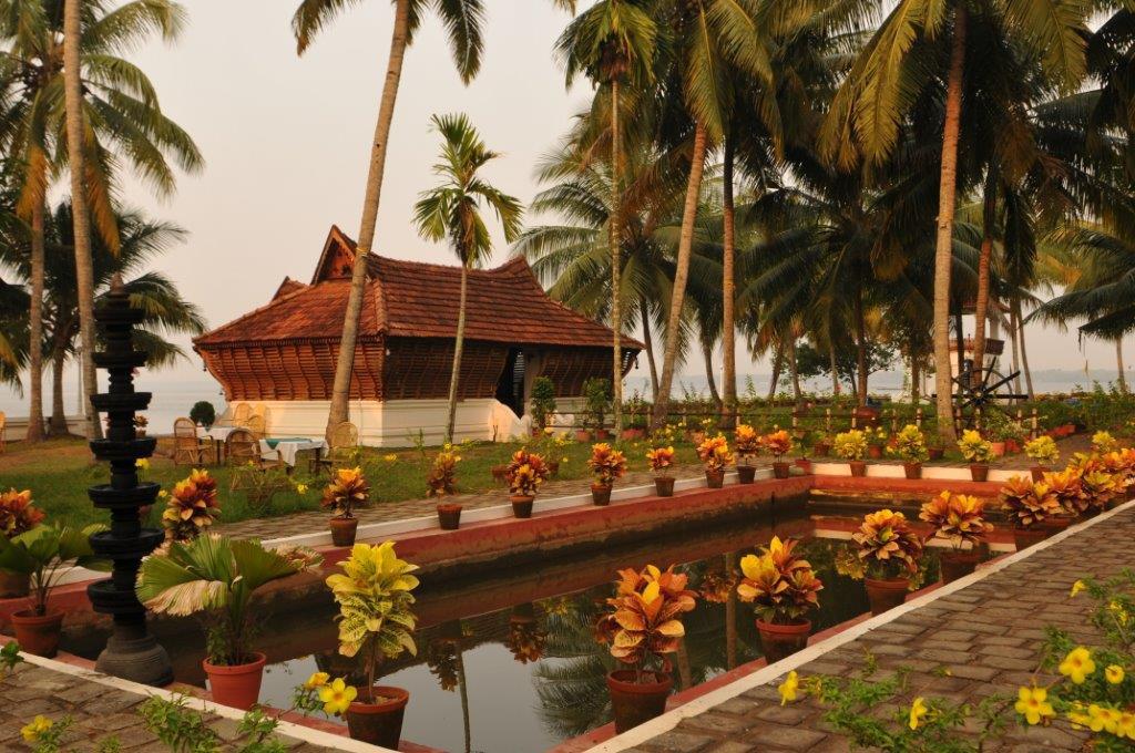 Indien: Traditioneller Keralischer Baustil,Herrscherklasse, Soma Kerala Palace | Traditional architecture: Soma Kerala Palace, Kerala