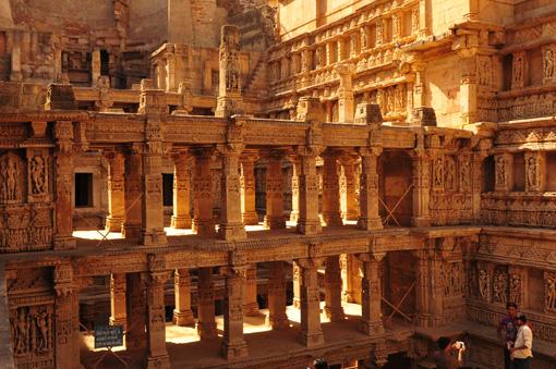 Indien: Step Well of Rani ki Vav, Patan, Gujarat, Temple, Indien | Step Well of Rani ki Vav, Patan, Gujarat, Temple, India