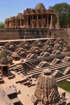 Sandstein Sonnentempel  Modhera, Gujarat, Indien | Sandstone Sun temple, Modhera, Gujarat, India