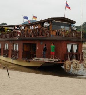 Laos Mekong Cruise Ship 2681