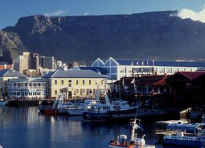 Südafrika: Waterfront in Kapstadt