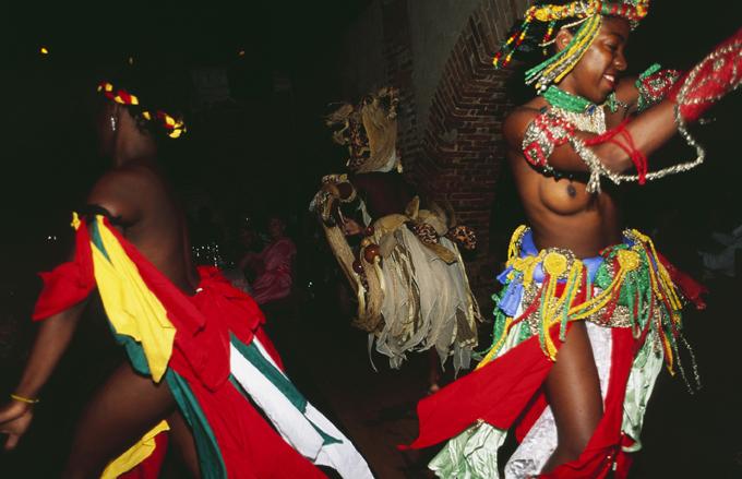 Brasilien: Candomblé performance, Salvador de Bahia