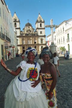 Brasilien: Salvador Pelourinho Bahianas