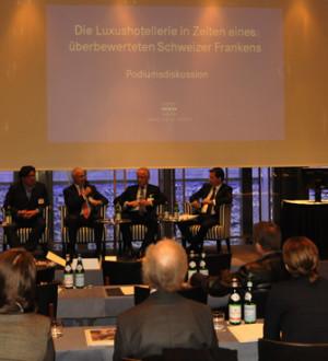Schweiz: Swiss Deluxe Hotels Pressconference 0844