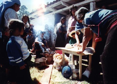 Mexico: Chamulas indios food