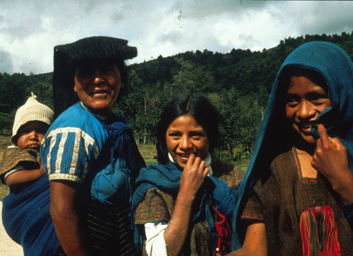 Mexico Indio women