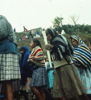 Mexico: Mixteken-Indio-Osterprozessionen