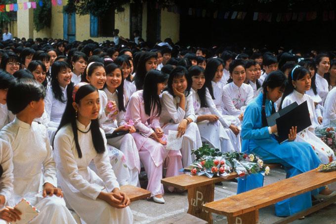 Vietnam: Hanoi Secondary School 33