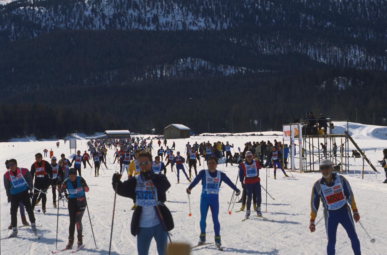 Eines der vielen Wintersport-Highlights: Oberengadiner Langlauf-Marathon