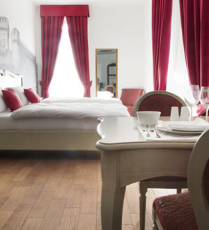 Ticino: Zimmer im Hotel La Tureta, Giubiasco (7)